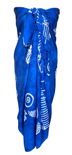Blue Fair Trade Sarong