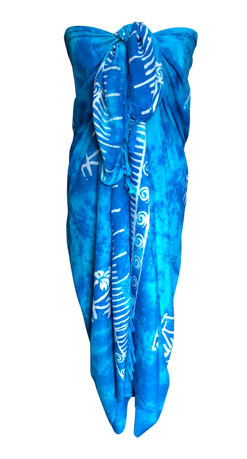 Light Blue Fair Trade Sarong