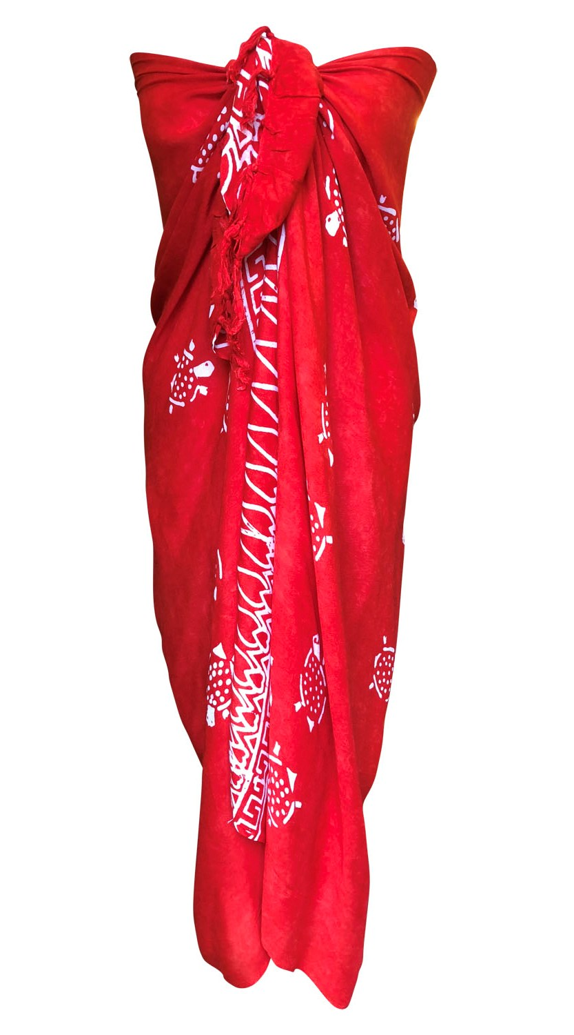 Red Fair Trade Sarong