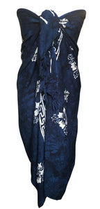 Navy Blue Fair Trade Sarong