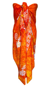 Orange Fair Trade Sarong