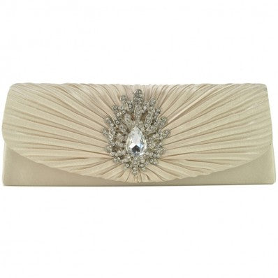 Crystal Champagne Clutch
