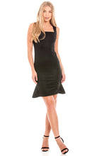 Load image into Gallery viewer, Black Bodycon Dress