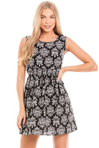 Black & White Summer Dress