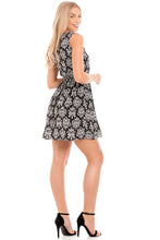 Load image into Gallery viewer, Black & White Summer Dress