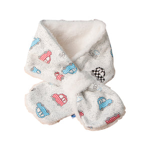 Fleece Lined Kids Snood Scarf