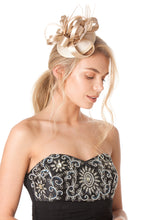 Load image into Gallery viewer, Champagne Gold Fascinator