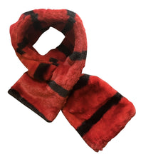 Load image into Gallery viewer, Kids Striped Faux Fur Snood Scarf