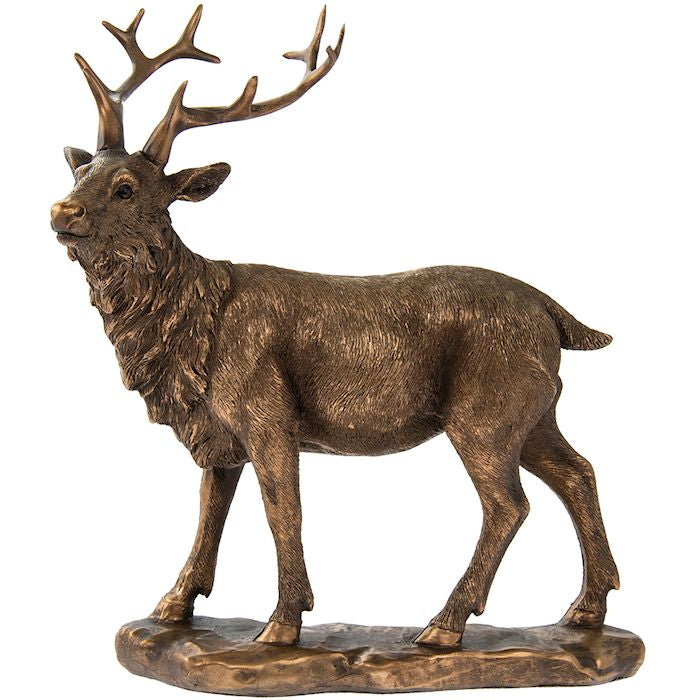Standing Stag Ornament