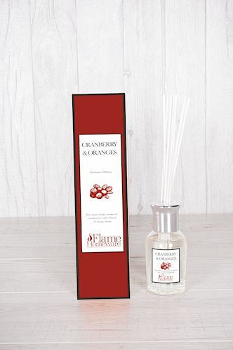Orange & Cranberry Scented Reed Diffuser