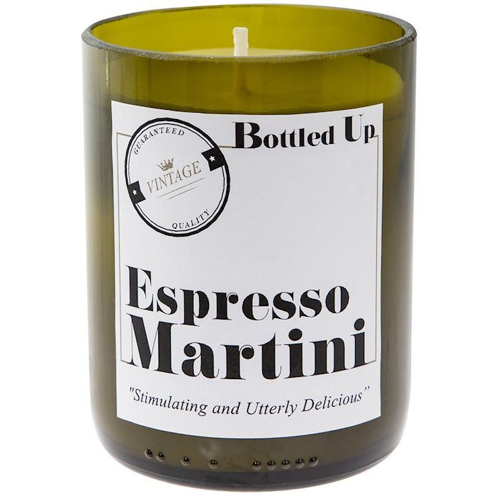 Espresso Martini Scented Bottle Candle