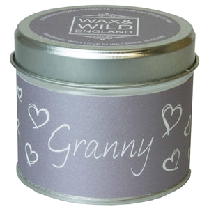 Sentiments Candle in Tin - Granny