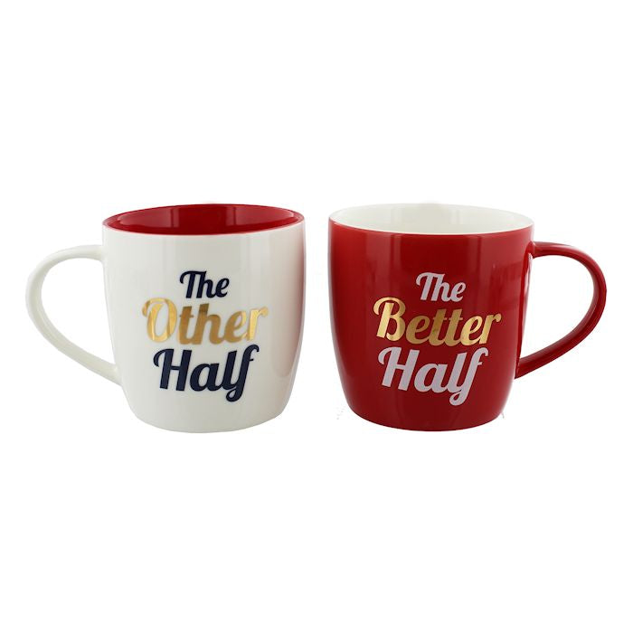 Other Half Better Half Mug Set