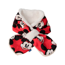 Load image into Gallery viewer, Fleece Lined Kids Snood Scarf