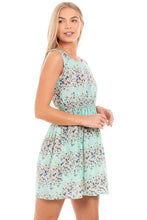 Load image into Gallery viewer, Turquoise Summer Dress