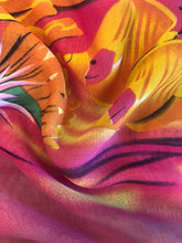 Load image into Gallery viewer, Yellow & Hot Pink Underwater Chiffon Sarong