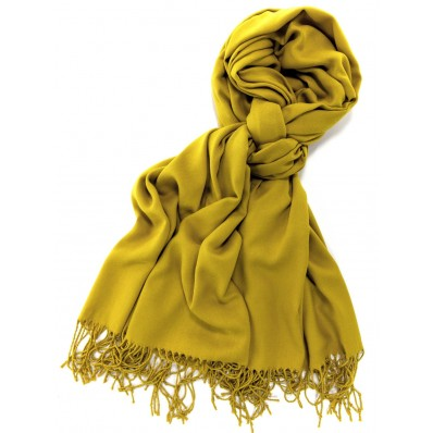 Mustard Yellow Cashmere Scarf