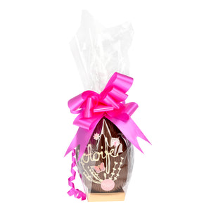 GIRLS PERSONALISED EASTER EGG