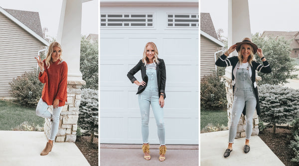 Trend Alert | How to Style Denim Overalls for Fall