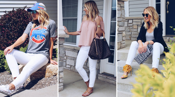 3 Ways to Rock White Denim this Summer
