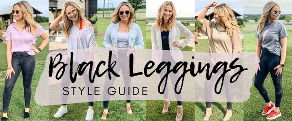 Style Guide: Build Six Outfits with Two Pairs of Black Leggings