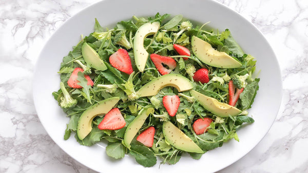 healthy summer salad