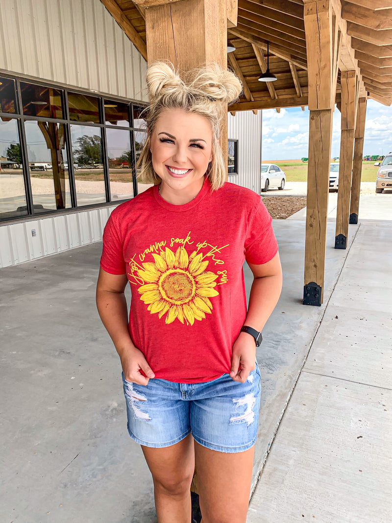 Soak Up the Sun Graphic Tee