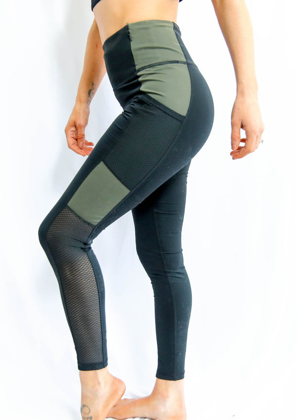 Trellis Mesh Leggings