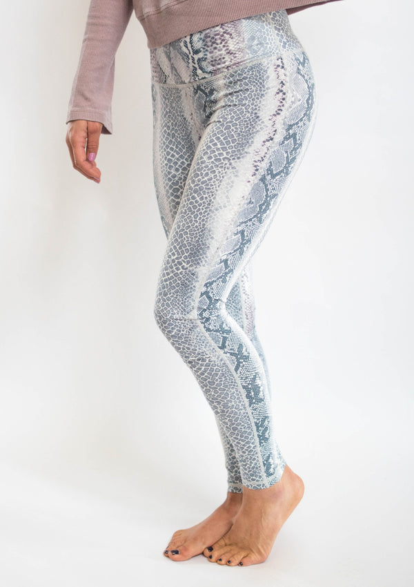 Snakeskin Leggings Workout