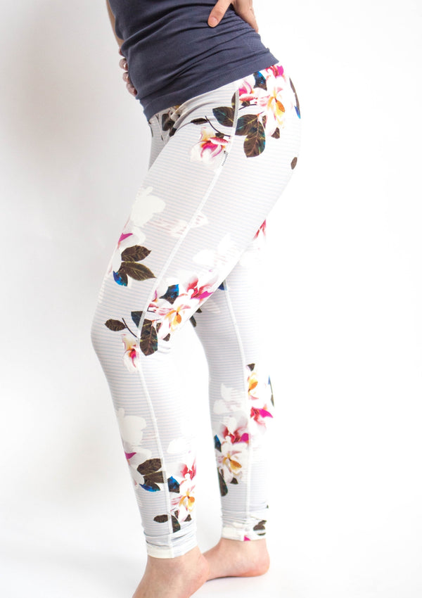 Floral Print High Waisted Leggings
