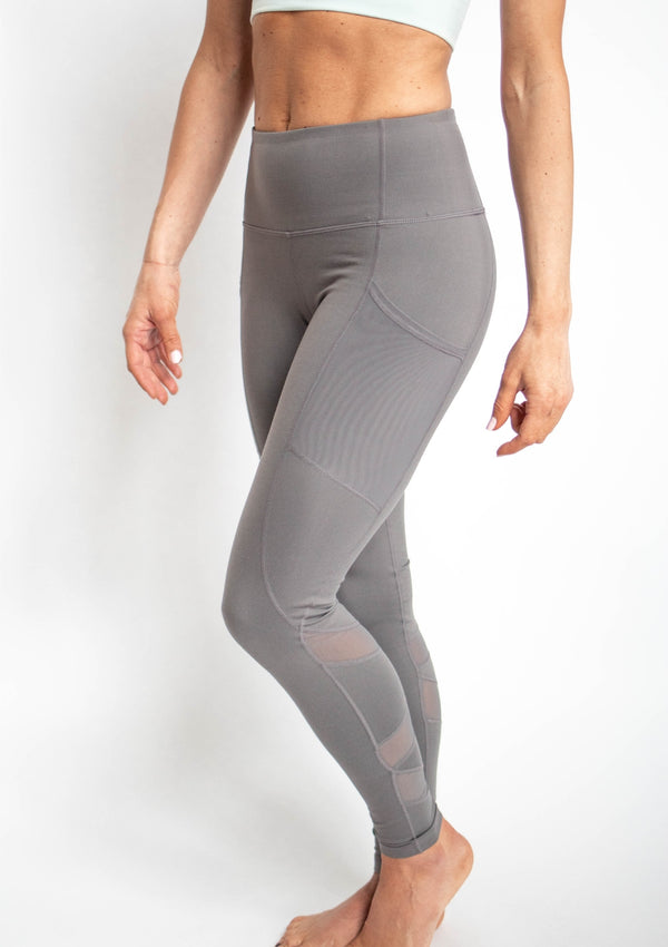 Highwaist Zig Zag Mesh Leggings