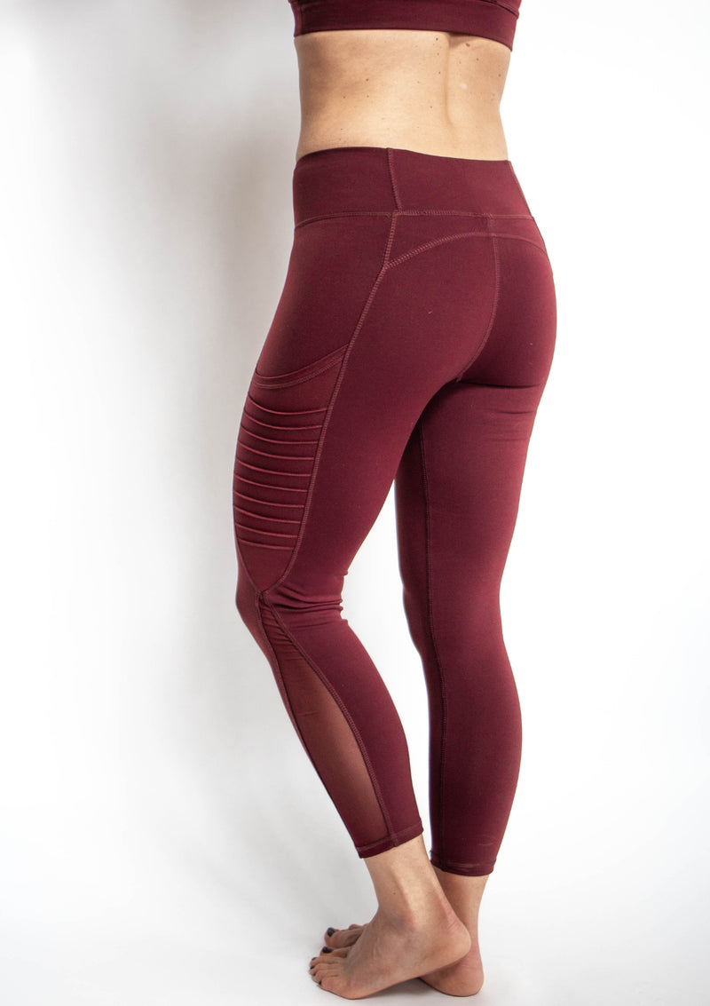 Cropped Moto Leggings