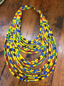 Ankara necklace