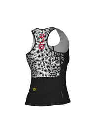 AGGUATO WOMEN TOP SOLID (WHITE-BLACK) - Alecycling.co.za