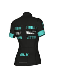 STRADA WOMEN SHORT SLEEVE JERSEY GRAPHICS PRR (TURQUOISE) - Alecycling.co.za