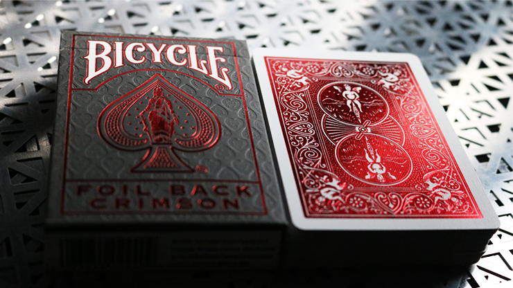 Bicycle Rider Back Crimson Luxe V2
