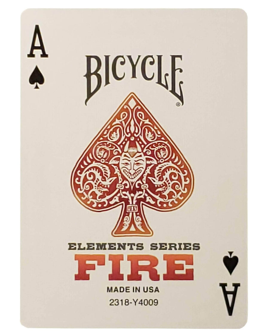 Bicycle® Fire Playing Cards - CARDVOCATE.COM