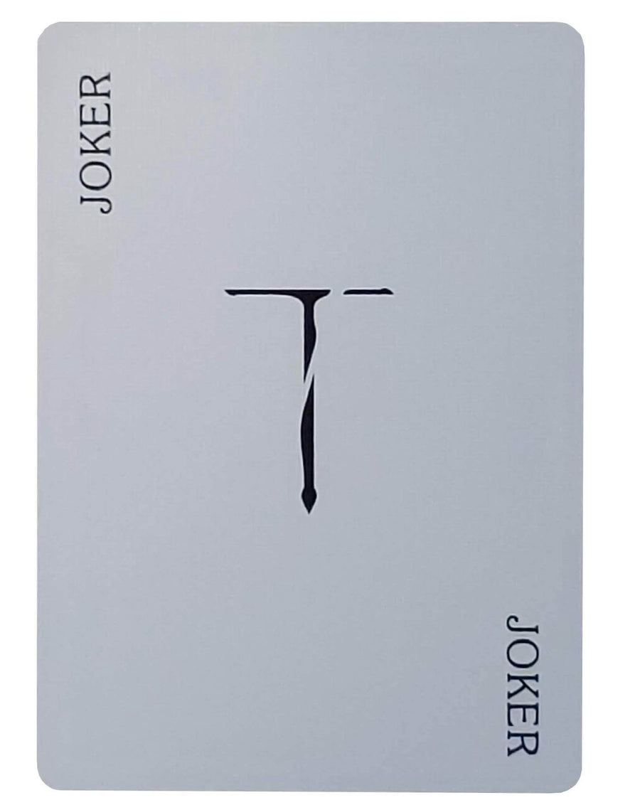 TCC New T Playing Cards - CARDVOCATE.COM