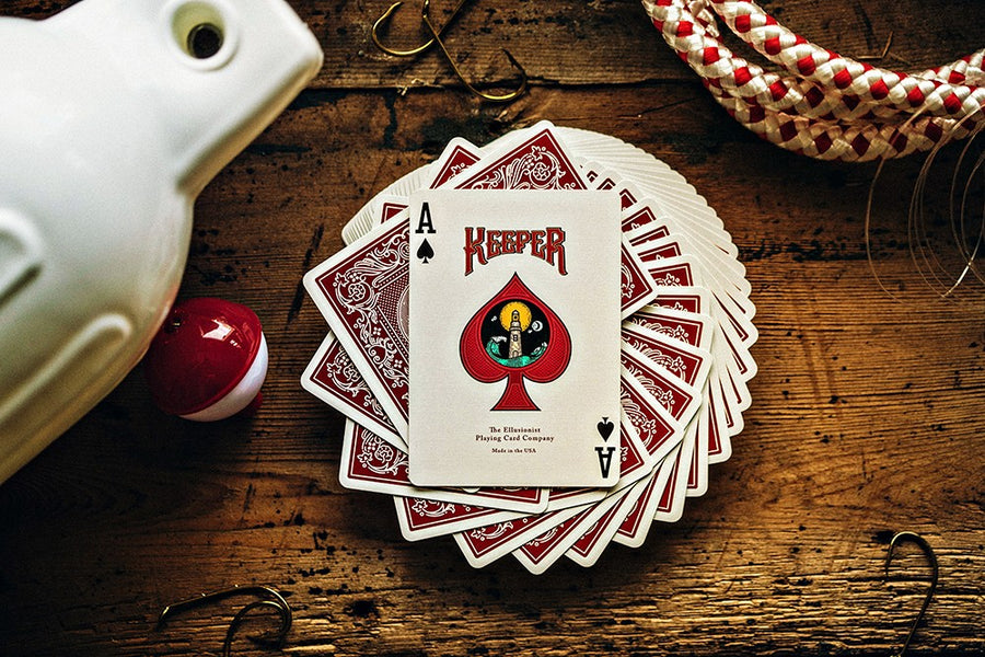 Red Keepers Playing Cards - CARDVOCATE.COM