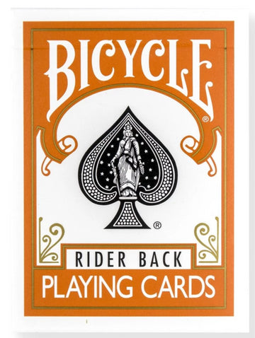 Bicycle® Rider Back Orange