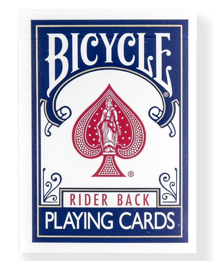Bicycle® Rider Back Blue