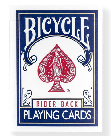 Bicycle® Double Back Deck Blue