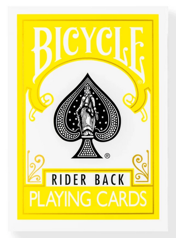 Bicycle® Rider Back Yellow
