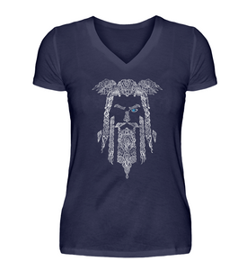 Odin  - V-Neck Damenshirt