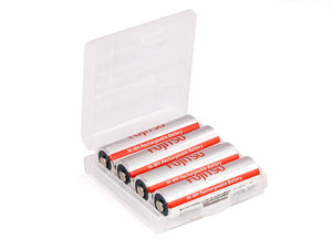 Fujitsu FDK AA NIMH battery fast charging 4 pieces + Box