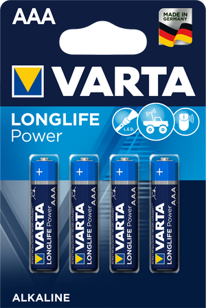 Varta 4903 Long Life micro batteries AAA - 4 pieces