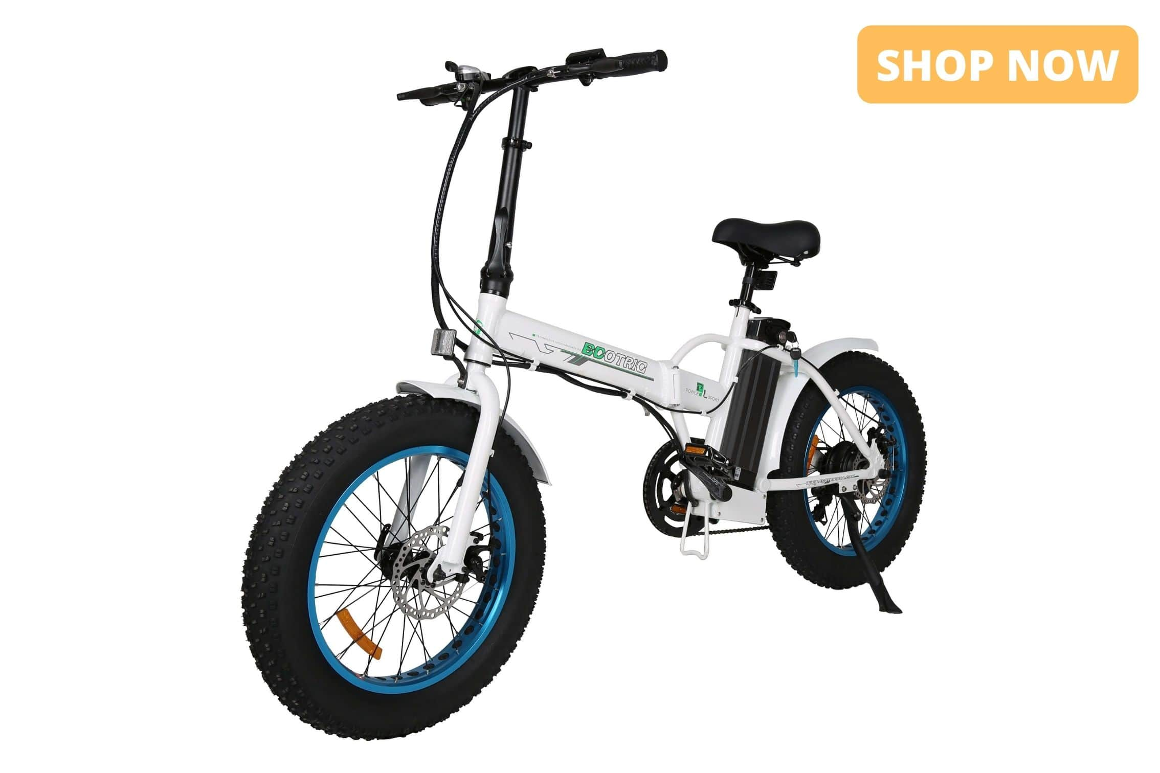 Ecotric Fat Tire Foldable Electric Bike Product Page