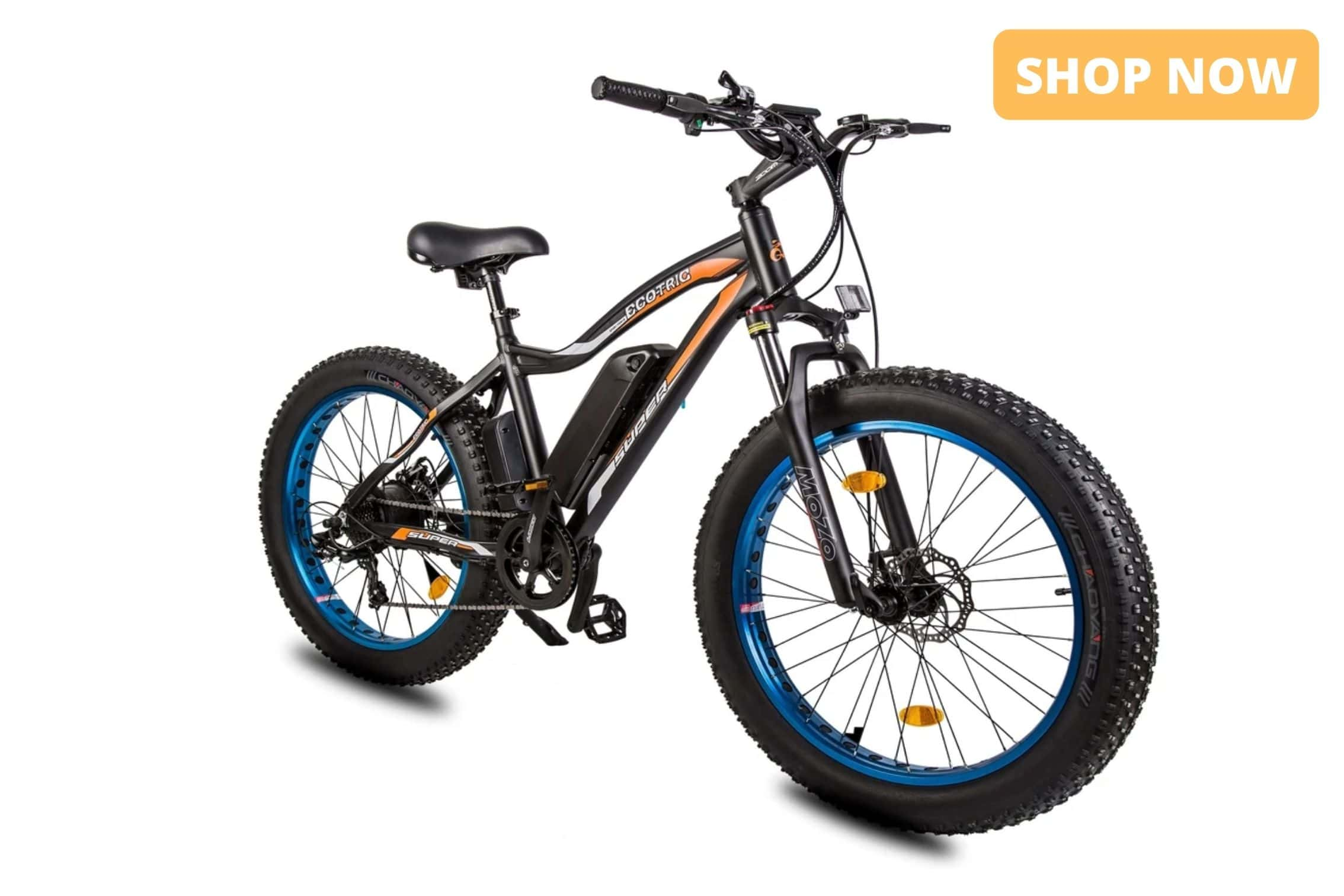 Ecotric Rocket Electric Bike Product Page