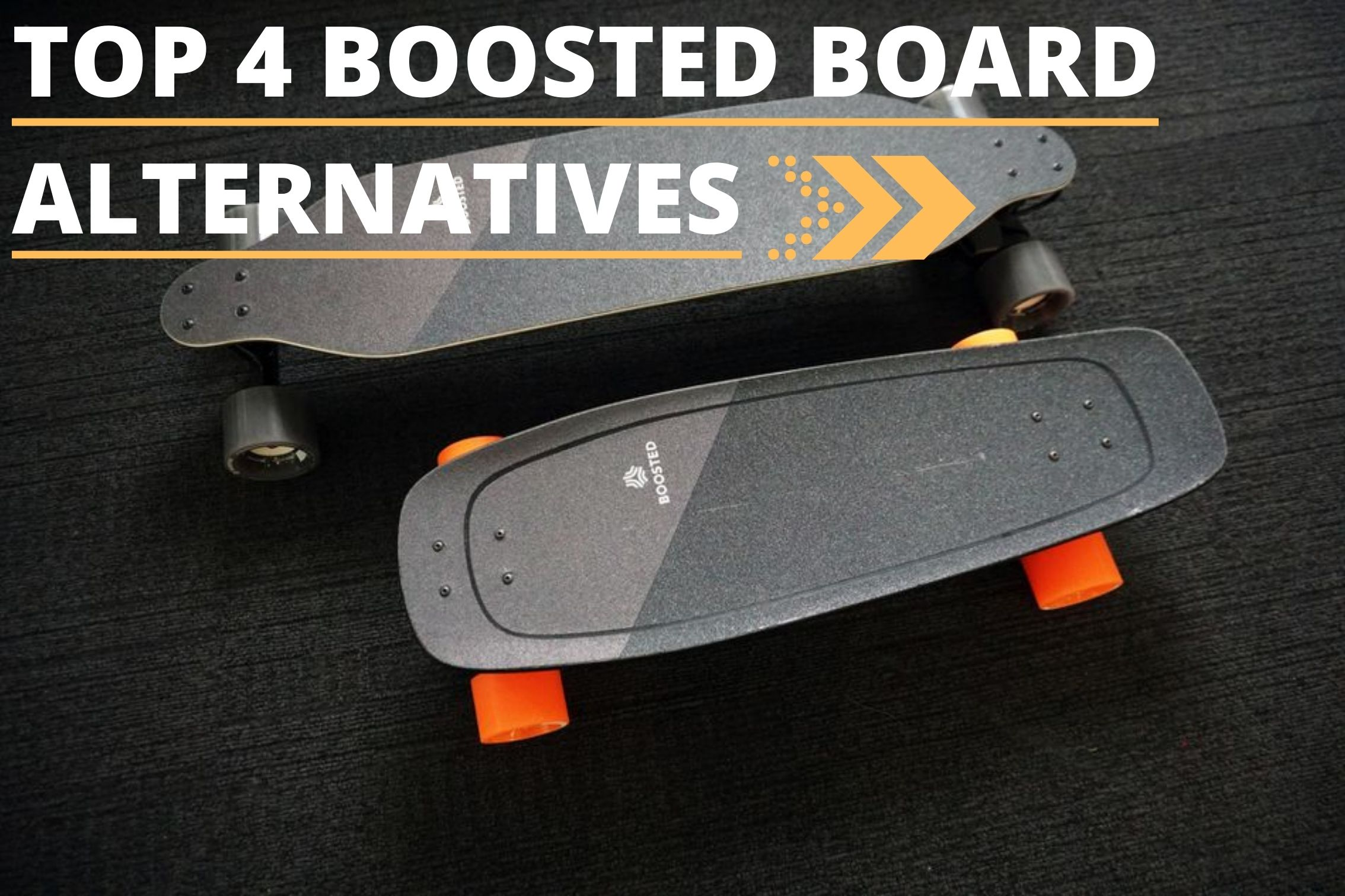 Boosted Board Alternatives