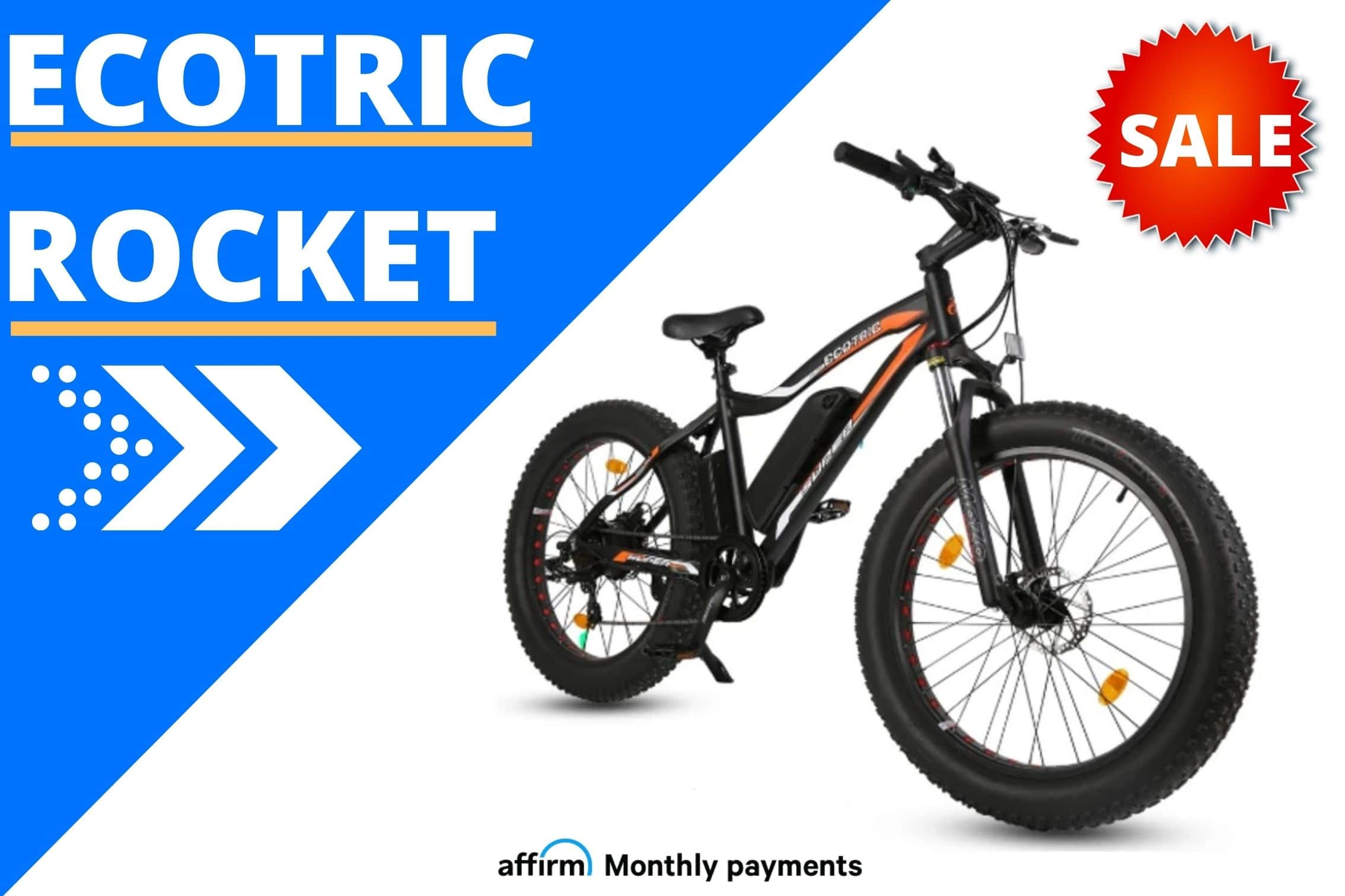 Ecotric Fat Tire Rocket